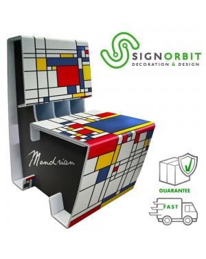 Poltrona sedia Mondrian -...