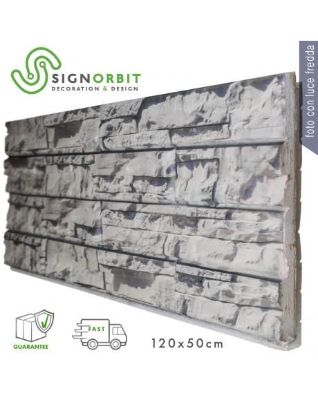 PIETRA CARSICA INTAGLIATA pannello finta pietra in EPS Resinato Misura 120x50 Cm Spessore 4 Cm