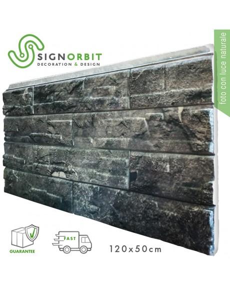 ARDESIA pannello finta pietra in EPS Resinato Misura 120x50 Cm Spessore 4 Cm
