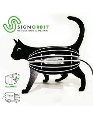 LAMPADA LED DESIGN gatto...