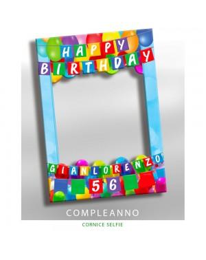 Cornice selfie Compleanno