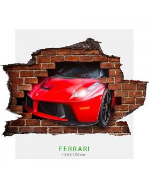 Adesivo parete Ferrari...
