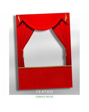 Cornice selfie Teatro