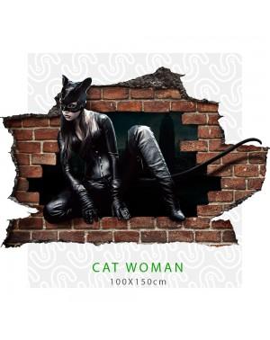 Adesivo per parete 3D CAT...