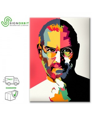 Tela STEVE JOBS pop art, -...
