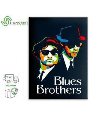 Tela arredo The Blues...