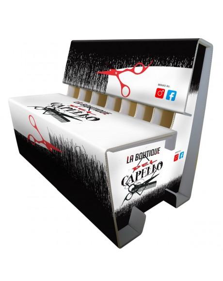 Divanetto personalizzabile con loghi,fantasie e brand