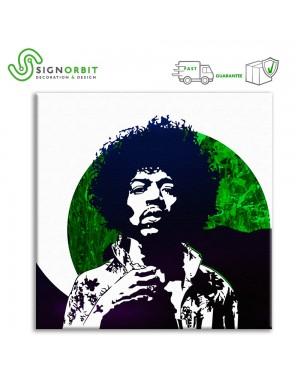 Stampa su tela Jimi Hendrix...