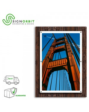GOLDEN GATE - Quadro arredo...