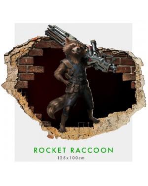 Rocket Raccoon - Adesivi...