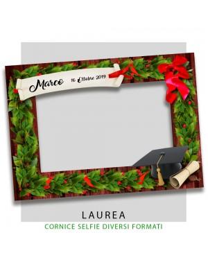 Cornice selfie Laurea