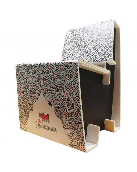 Poltroncina Arredo Moderno Heartstealers - misura 60 x 46 x 78 cm di altezza