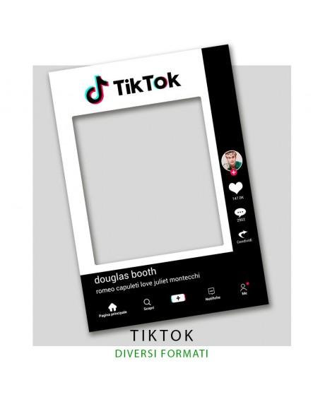TIKTOK - Cornice selfie