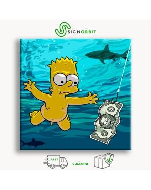 Bart Simpson - Quadro...