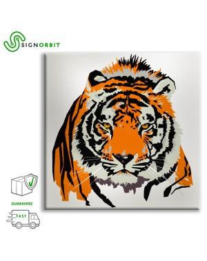 Tigre - Stampa su tela...