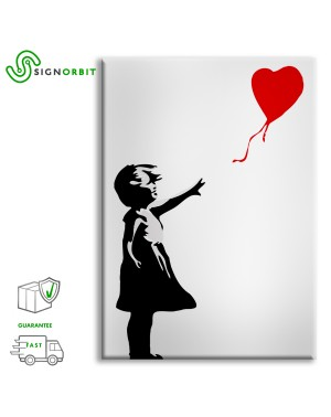Banksy - Girl with Baloon -...