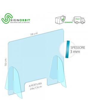 Protezione in plexiglass...