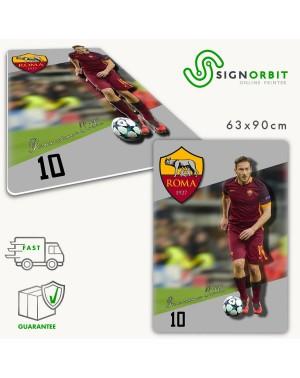 Quadro 3D Francesco Totti...