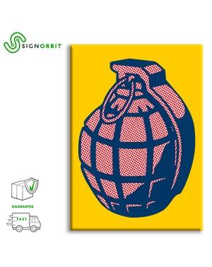 Roy Lichtenstein - BOMB -...