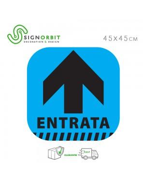 ENTRATA - Adesivo...