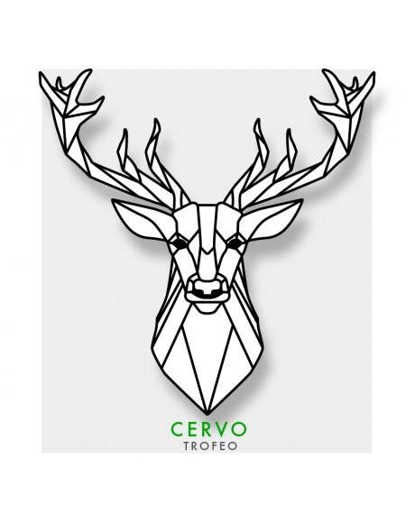 Cervo - Adesivo intagliato