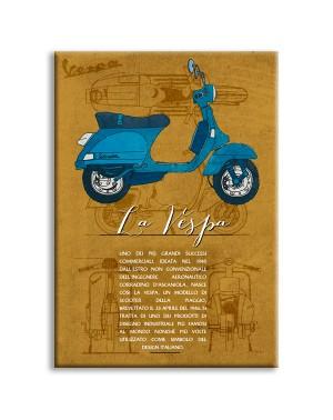 LA VESPA - Made in Italy -...