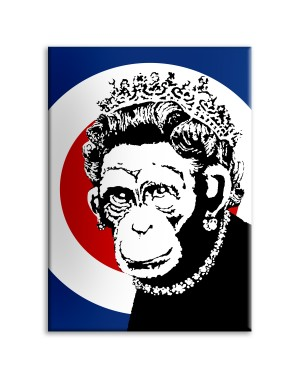 Monkey Queen - Banksy -...