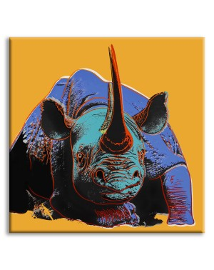 Rhinoceros - Andy Warhol -...