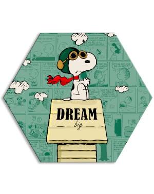 SNOOPY - DREAM BIG - Tela...