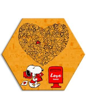 SNOOPY - LOVE MORE - Tela...