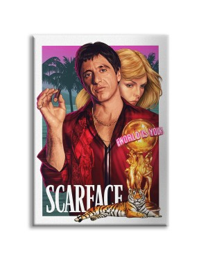 SCARFACE - Quadro stampato...
