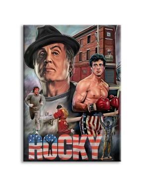 ROCKY - Quadro stampato su...