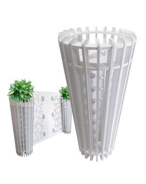 VASO FIORIERA PVC  - design...