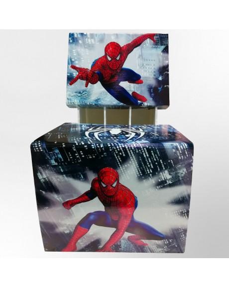 Poltroncina Bimbo Spiderman - misura 30 x 39 x 51 cm di altezza