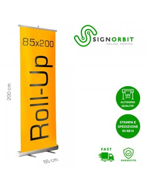 ESPOSITORE ROLL UP 85X200...