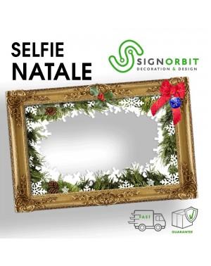Cornice selfie NATALE